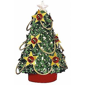 Pinflair Sequin &  Pin Christmas Tree - Makes 2