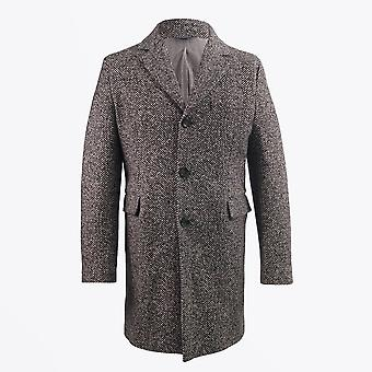 Circolo 1901  - Herringbone Stretch Coat - Brown
