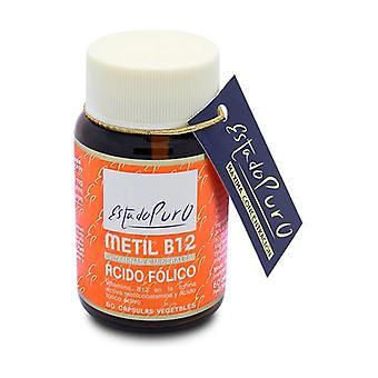 Methyyl B12 foliumzuur 60 groentecapsules