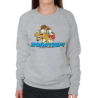 Garfield e Odie em um roadtrip mulheres & apos;