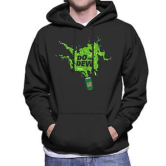 Mountain Dew Do The Dew Spilt Everywhere Men's Hooded Sweatshirt