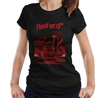 Friday the 13th Jason Voorhees Bloody Boat Women's T-Shirt