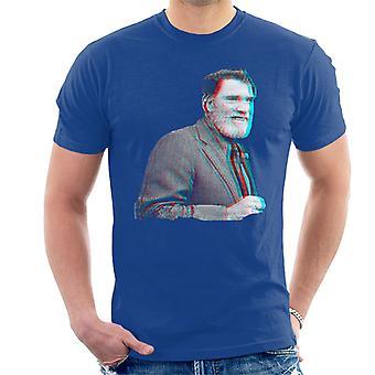 Burt Lancaster 1973 3D effekt mäns T-Shirt