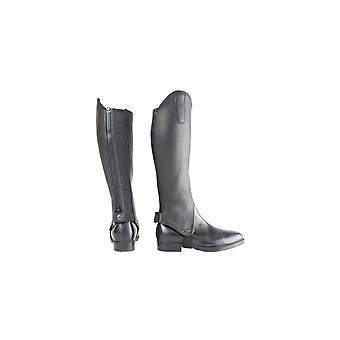 Battles Hy Leather Gaiters - Negru