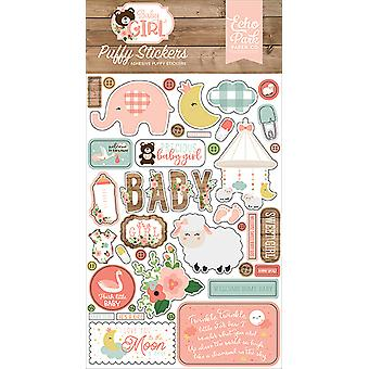 Echo Park Baby Girl Puffy Stickers