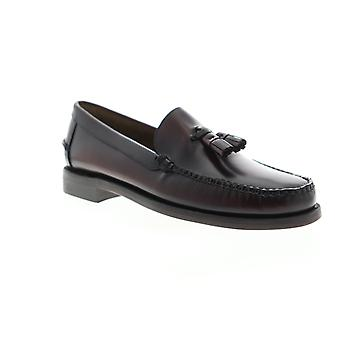 Sebago Classic Will Mens Brown Loafers & Slip Ons Tasseled Shoes