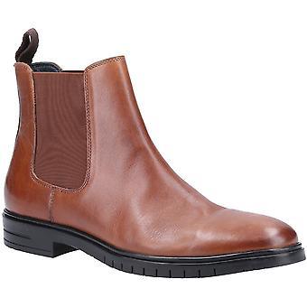 هش الجراء الرجال سوير الجلود الذكية أحذية تشيلسي