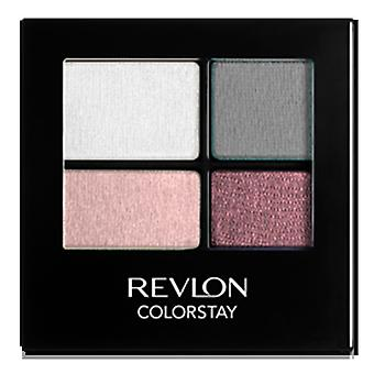 Revlon Colorstay 16 Hour Eye Shadow Quad, Precocious 510 { 8 Pack }