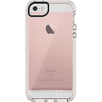 Tech21 Evo Mesh FlexShock Case voor iPhone 5/5s/SE-Clear/wit