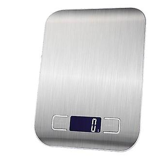Electronic Usb Charging Kitchen Scale Digital Lcd Measuring Tool - Stainless