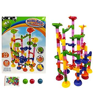 Racetrack for balls Marble Race Game