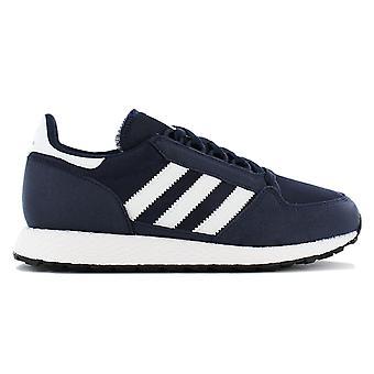 أداس الأصل الغابات غروف J - أحذية الأطفال الأزرق B37745 أحذية رياضية أحذية رياضية