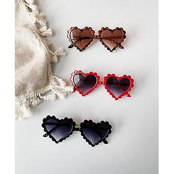 Boy, Girl Sunglasses, Solid Love Pattern - Beach Eyewear