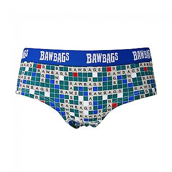Bawbags Originals Women's Scrabbawl Underwear - Multi - 14
