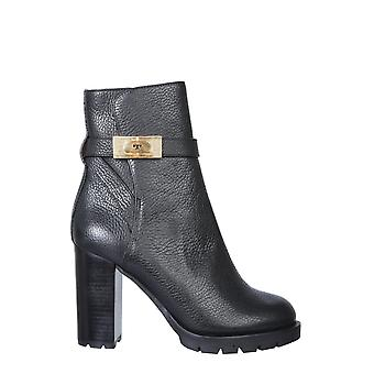 Tory Burch 74355006 Women's Black Leather Ankle Boots