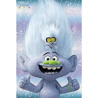 Trolls World Tour Guy Diamond Poster