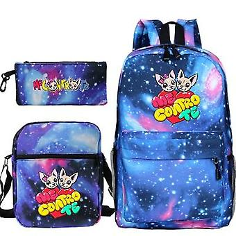 Boys And Cartoon Bag Waterproof Backpack Student Bag Bag Leisure Backpack Small