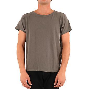 Greg Lauren Am109army Men's Green Cotton T-shirt