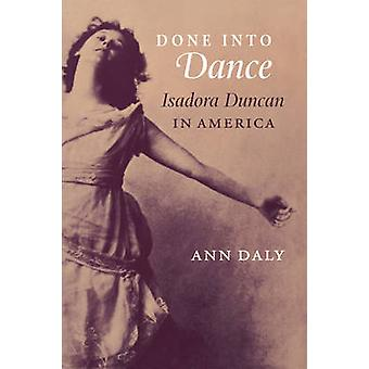 Done into Dance by Ann Daly - 9780819565600 Book
