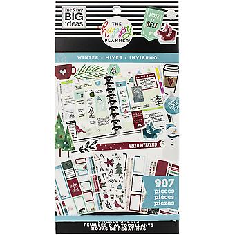 Happy Planner Sticker Value Pack-Winter, 907/Pkg