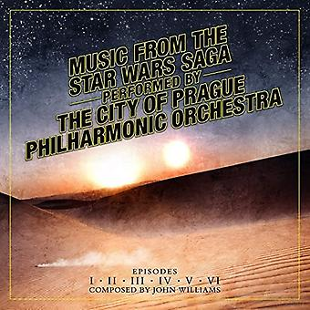 City of Prague Philharmonic Orchestra - Music From the Star Wars Saga [CD] USA import