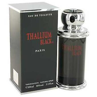 Thallium Black By Yves De Sistelle Eau Detoilette Spray 3.3 Oz (men) V728-460990
