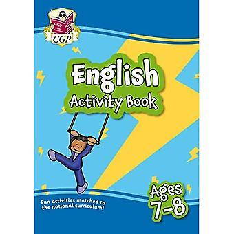 Ny engelsk aktivitetsbog for aldre 7-8