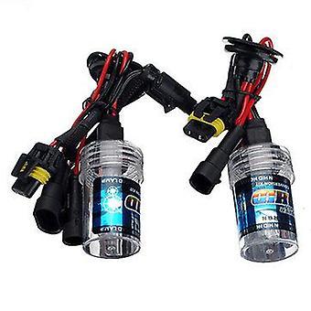 Pair H7 35W Car Xenon HID Headlights Replacement Bulb Lamp 3000K-15000K