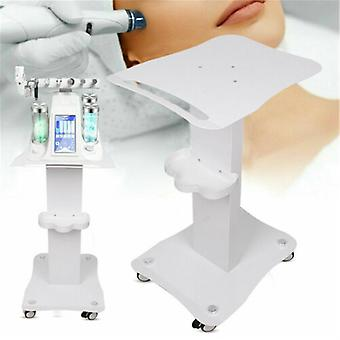 White Beauty Cart Trolley Stand For Cavitation Ipl Beauty Machine Assembled Spa