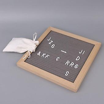 Tekens voor Vilt briefbord, nummers voor veranderlijke brief