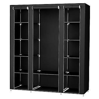 Ruhás szekrény bútor tároló szekrény szövet szekrény összecsukható nem szőtt