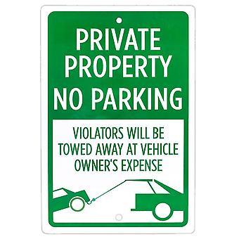 Privateigentum Kein Parkplatzschild