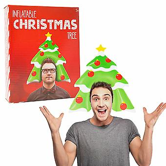 Inflatable Christmas Head - Tree