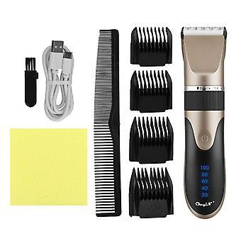 Professionelle Haarschneider digitale USB wiederaufladbar