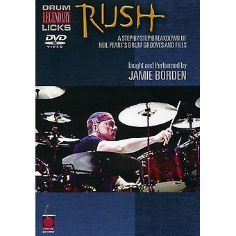 Rush - Legendary Licks for Drums [DVD] USA import