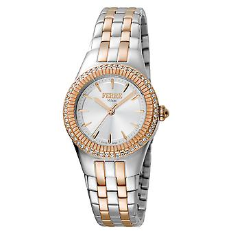 Ferre Milano FM1L089M0101 Women's Chocolate Dial Stainle Steel  Watch