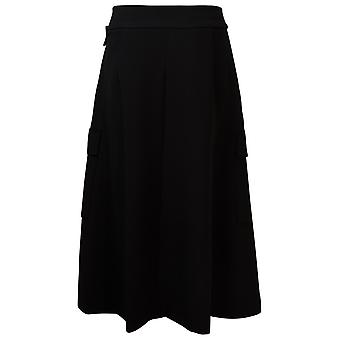 Eleventy B80gonb04tes0b20122 Women's Black Polyester Skirt