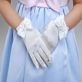 Bowknot Opera Abend Partykleid - Charmante Handschuhe