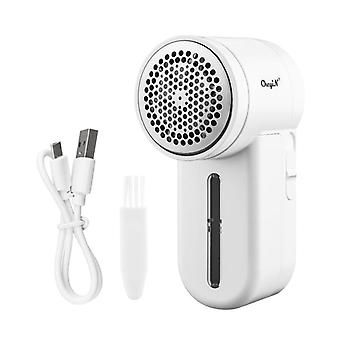 Portable electric lint remover trimmer rechargeable