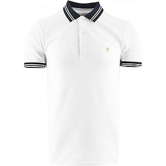 Farah camiseta blanca Stanton Polo