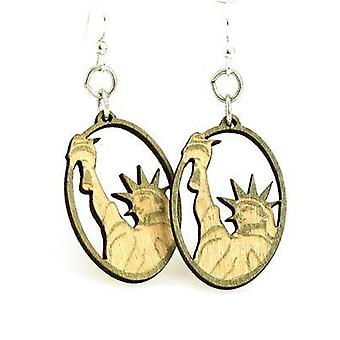 Statue Of Liberty Oval Earring