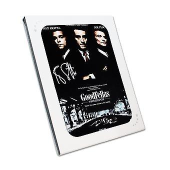 Ray Liotta ha firmato il poster di Goodfellas. Nella confezione regalo