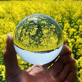Křišťálová koule velké transparentní lucky duha fotografie pro domácí dekorace