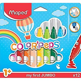 Maped color'peps my first jumbo colouring pens (age 1+) - multicolor