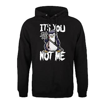 Psycho Penguin Mens Its You Not Me Hoodie