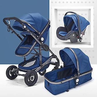 Baby Stroller With High View Can Be Sitting