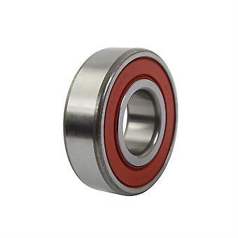 NTN Double Rubber Sealed Bearing - 6204DDU