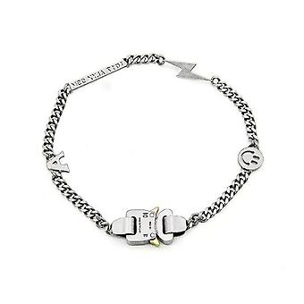 Titanium Geometric Hero Chain Metal Buckle 9sm Hip Hop Necklace