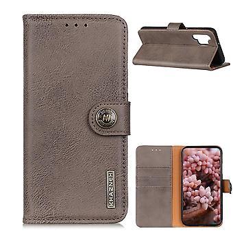 KHAZNEH Samsung Galaxy A32 Plånboksfodral - Grå