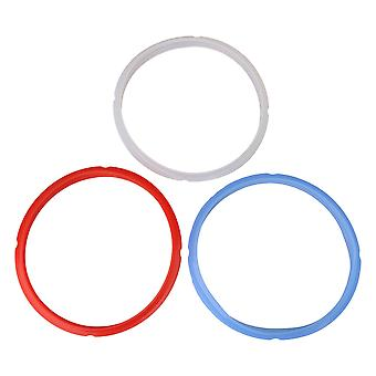 3PCS 3 Colors Silicone Sealing Ring Accessories for Pressure Cooker Pot
